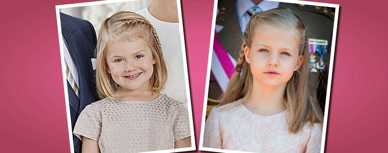 Foto: La princesa Leonor y la princesa Estelle con 'looks' muy parecidos
