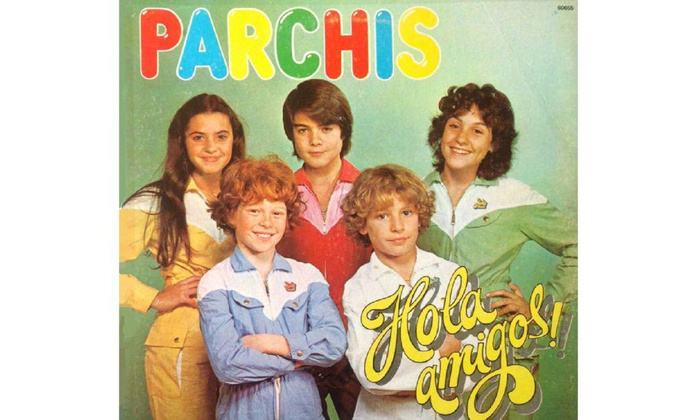 Foto: Portada del LP de Parchís '¡Hola amigos!', de 1981.