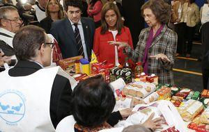 La sede del Banco de Alimentos en Alcorcón repartirá 8.000 kilos diarios