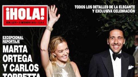 La fiesta de boda de Marta Ortega y Bisbal al borde del llanto