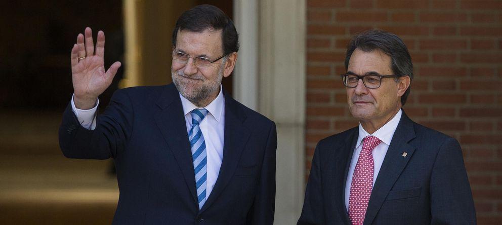 Foto: Mariano Rajoy y Artur Mas, durante su último encuentro en la Moncloa. (Efe)