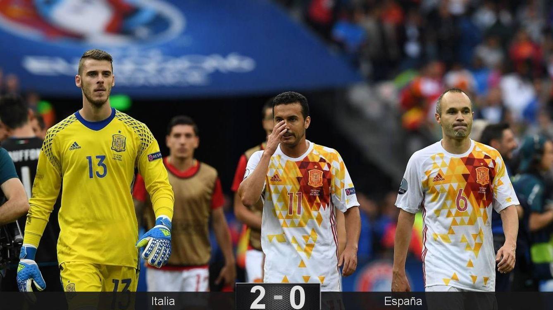 Foto: Italia se vengó de la final de hace cuatro años. (Reuters)