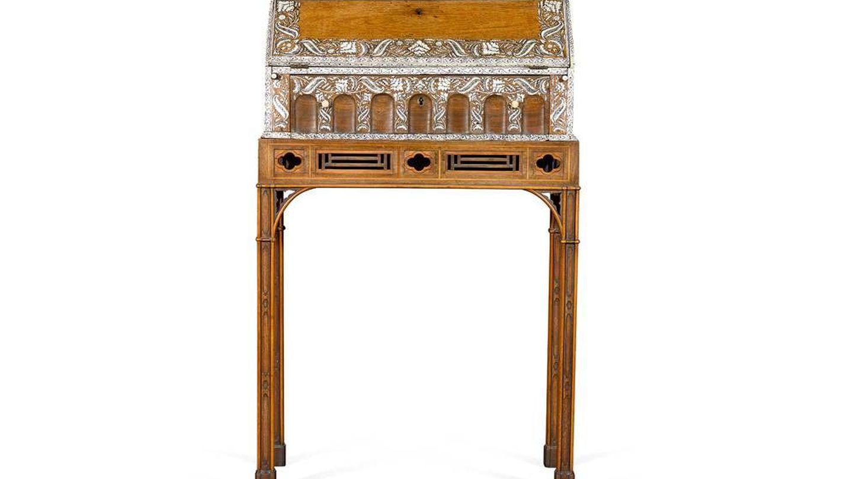 Un mueble Chippendale fabricado en 1767 con un valor estimado entre 40.000 y 60.000 libras. (Sotheby's)
