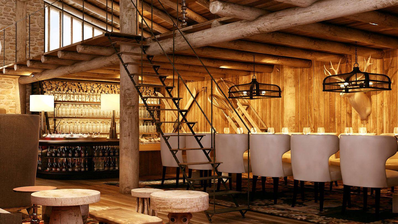 El Vodka Bar de Grau Roig, uno de los locales de moda en los Pirineos. (Grandvalira)