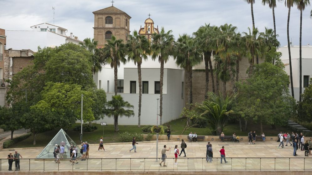 Foto: Vista del Museo Picasso de Málaga, que ha cumplido quince años. (EFE)