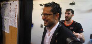 Post de La curiosa salida de Pedro Martínez del Valencia Basket campeón