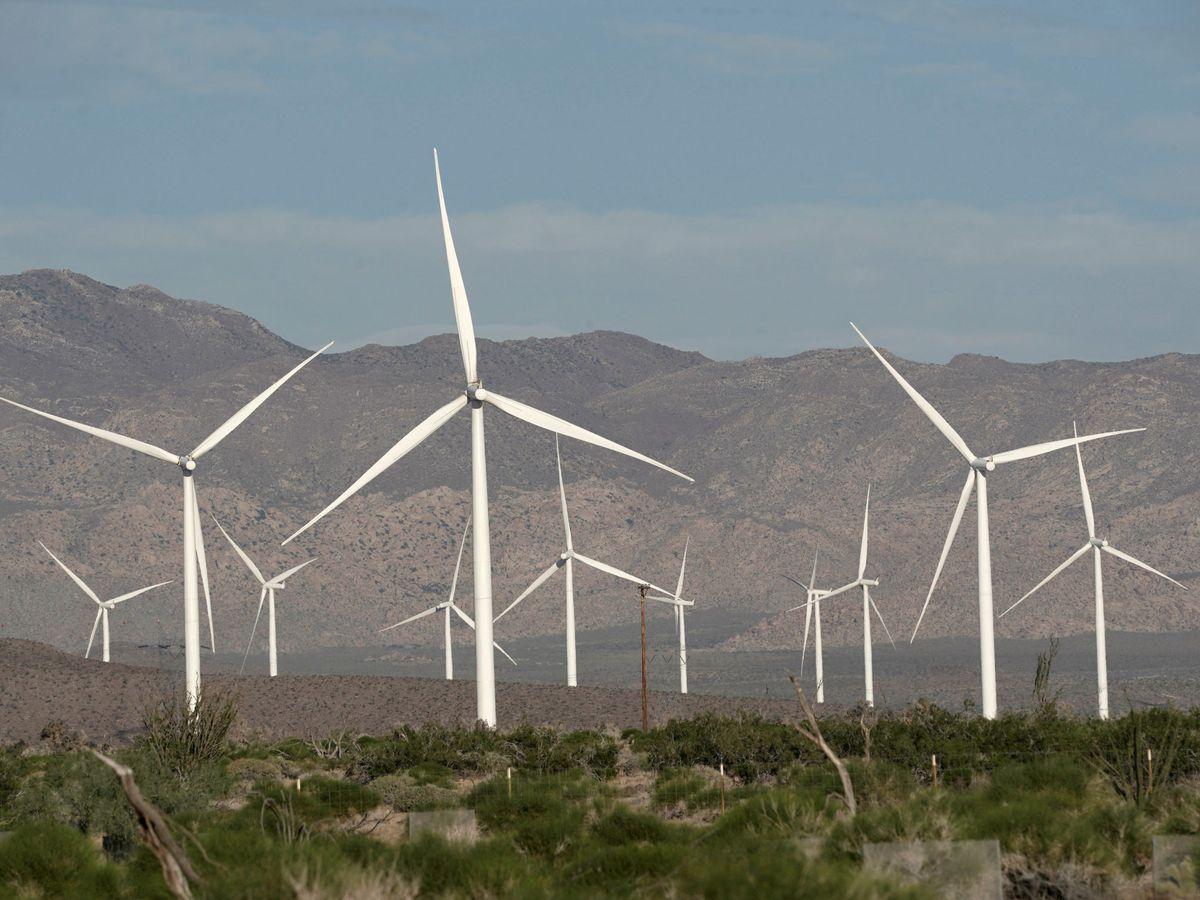 Foto: Parque eólico de Siemens. (Reuters)