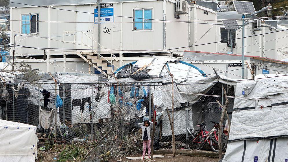 Foto: Imagen de archivo del campo de refugiados de Moria este 2 de abril. (Reuters)