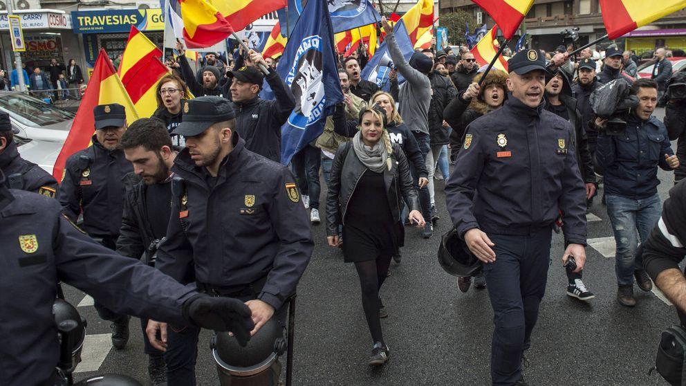 Melisa, la líder del Hogar Social que ha llevado el neofascismo a las calles