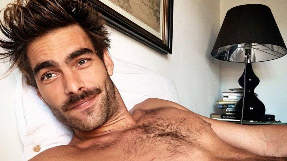 Foto:  Jon Kortajarena, posiblemente el hombre más guapo del mundo incluso recién despertado. (IG)