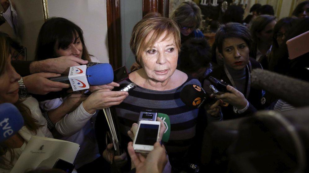Foto: La vicepresidenta primera del Congreso, la diputada del PP Celia Villalobos. (EFE)