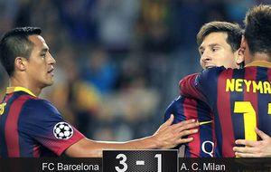 Messi recupera el gol, pero sigue sin aparecer en su mejor versión