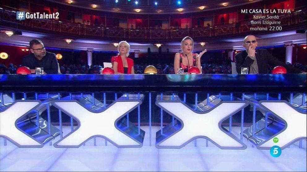 'Got Talent' brilla con un fantástico 20,3% frente al mínimo de Cristina Pedroche