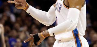 Post de Westbrook entra en la historia de la NBA con un triple doble logrado solo una vez