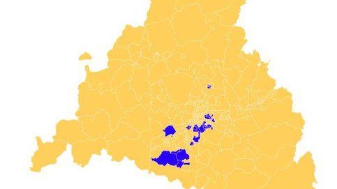El mapa de las zonas con restricciones en Madrid: cuáles son las 45 áreas afectadas