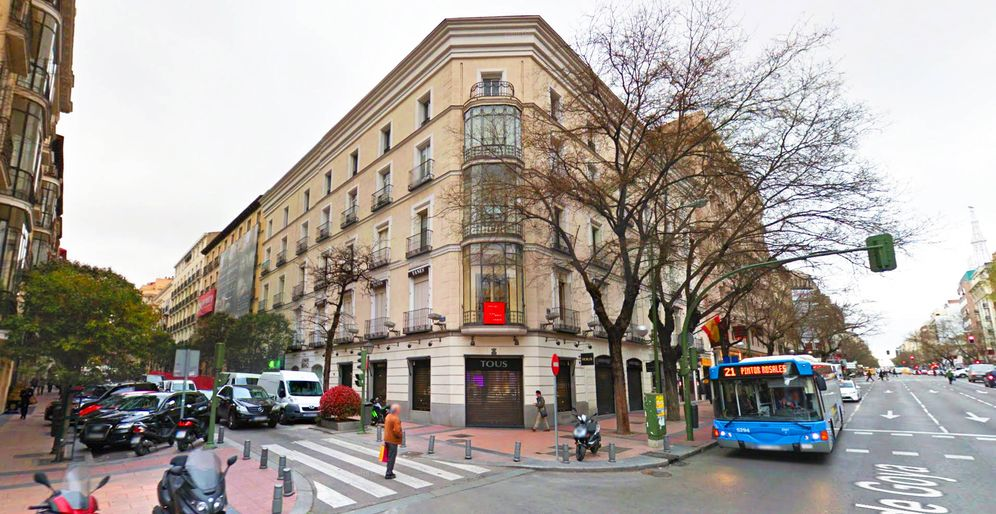 Foto: Calle Lagasca con Goya. (Google Maps)