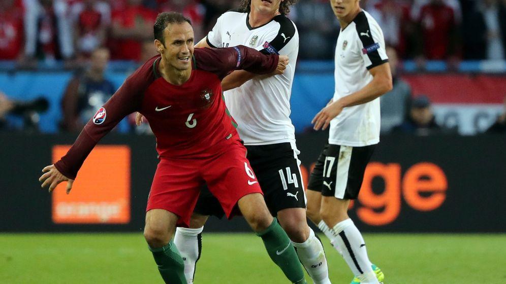 Foto: Ricardo Carvalho en un partido con Portugal. (Reuters)