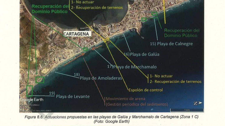 El mar se come La Manga del Mar Menor y Ribera planea expropiaciones para regenerar