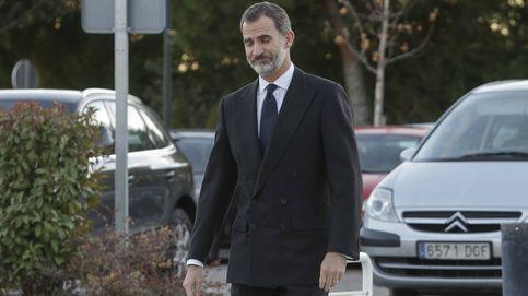 Felipe VI despide al que fuese su tutor, Aurelio Menéndez