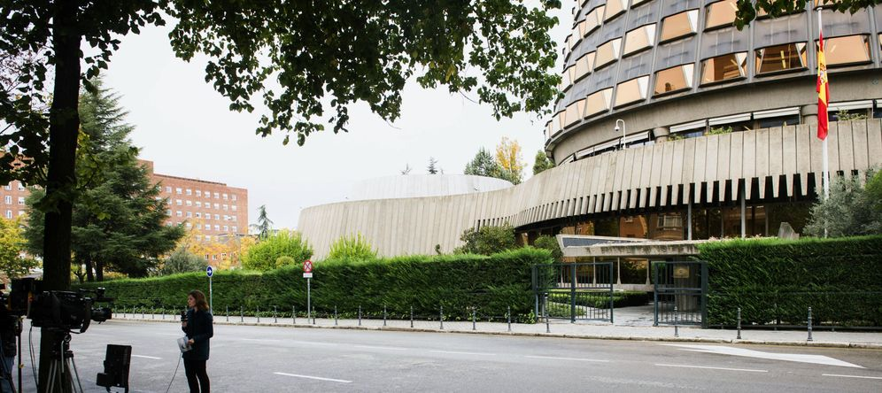 Foto: Sede del Tribunal Constitucional. (EFE)