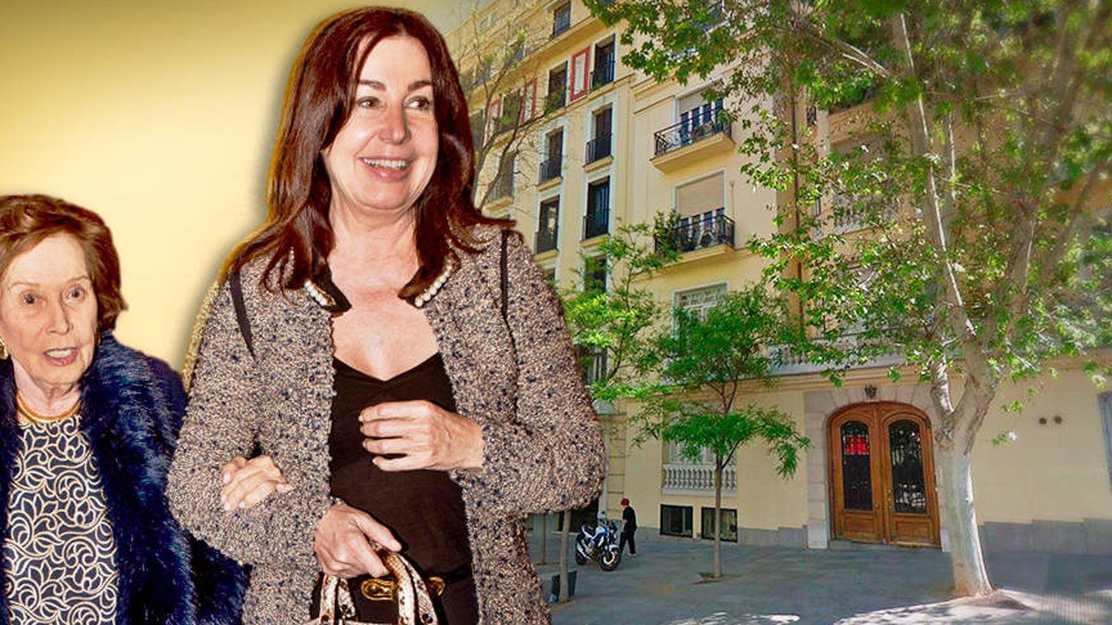 Foto: Carmen Franco y Carmen Martínez-Bordiú en un fotomontaje de Vanitatis.