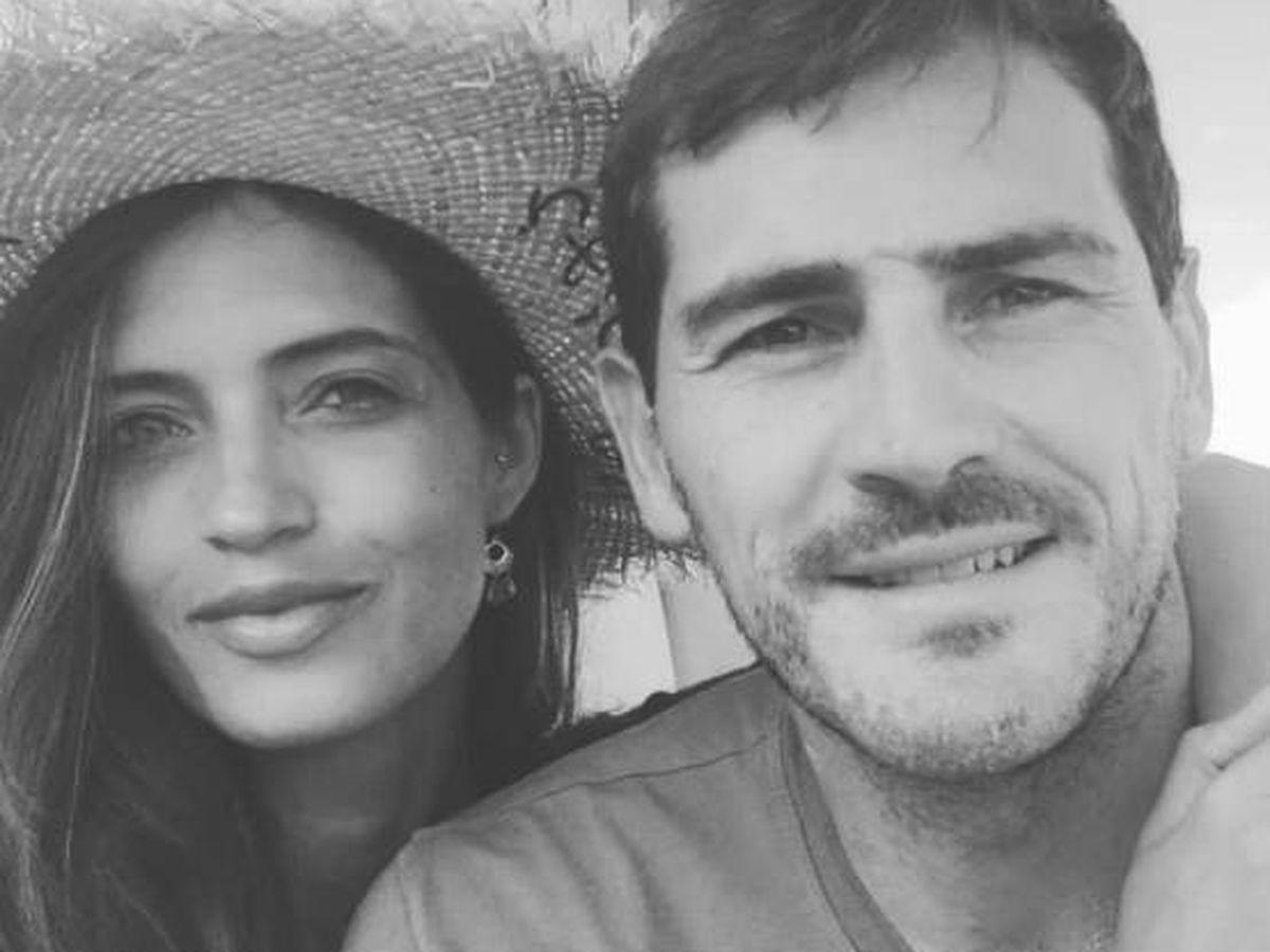 Foto:  Sara e Iker, en la foto del comunicado de su ruptura. (IG @ikercasillas)