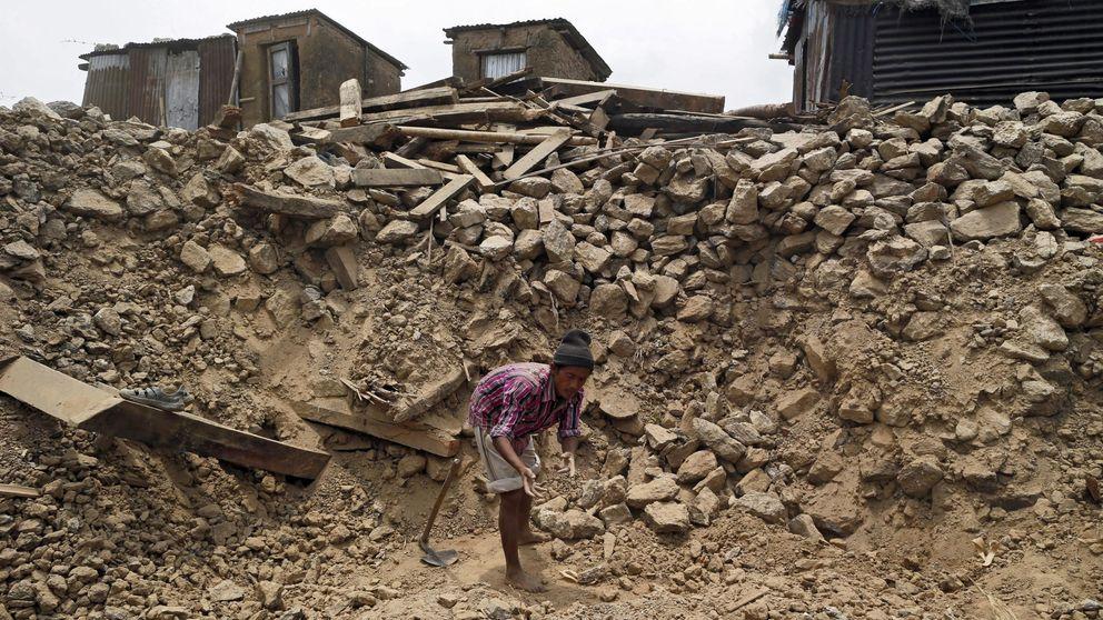 Qué rico del ladrillo se volcó en ayudar a las víctimas de los terremotos de Nepal