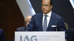 El presidente de IAG vuelve a dar el do de pecho en el auditorio