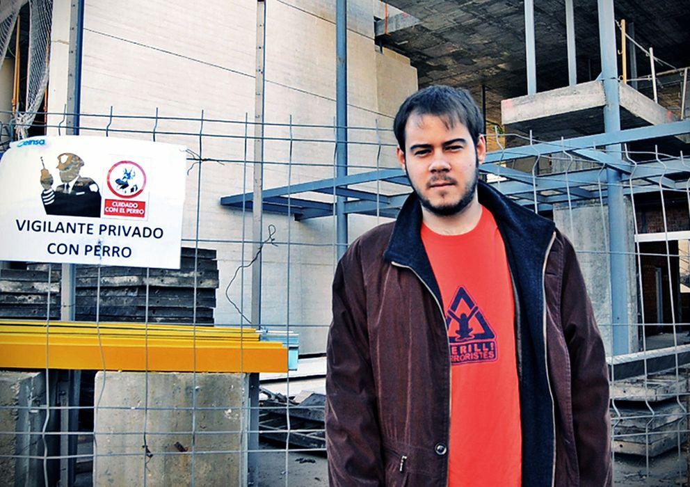 Foto: Pablo Hasél, músico condenado por la Audiencia Nacional a dos años de cárcel por el contenido de sus canciones.