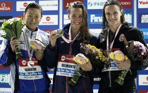 Mireia acaba la Copa del Mundo arrasando con otros tres oros