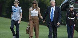 Post de Melania Trump y su hijo ya se han mudado a la Casa Blanca