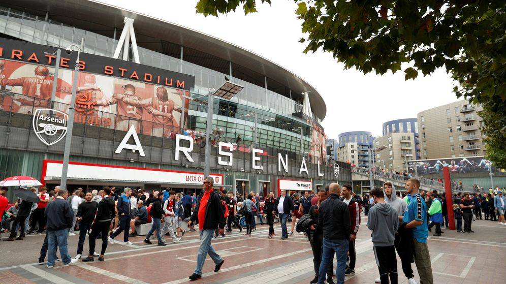 Foto: El Emirates Stadium, del Arsenal (Reuters/John Sibley)