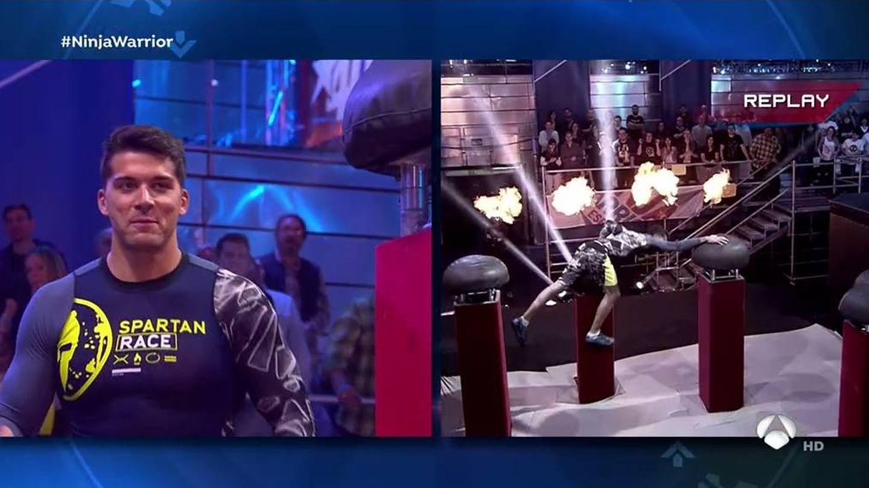 Cristian Toro se estrella en 'Ninja Warrior'.