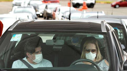 ¿Cuántas personas pueden viajar en el mismo coche en cada fase de desescalada?