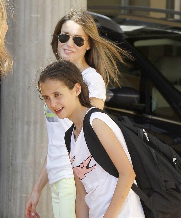 Foto: Victoria Federica junto a la Reina Letizia. (Gtres)