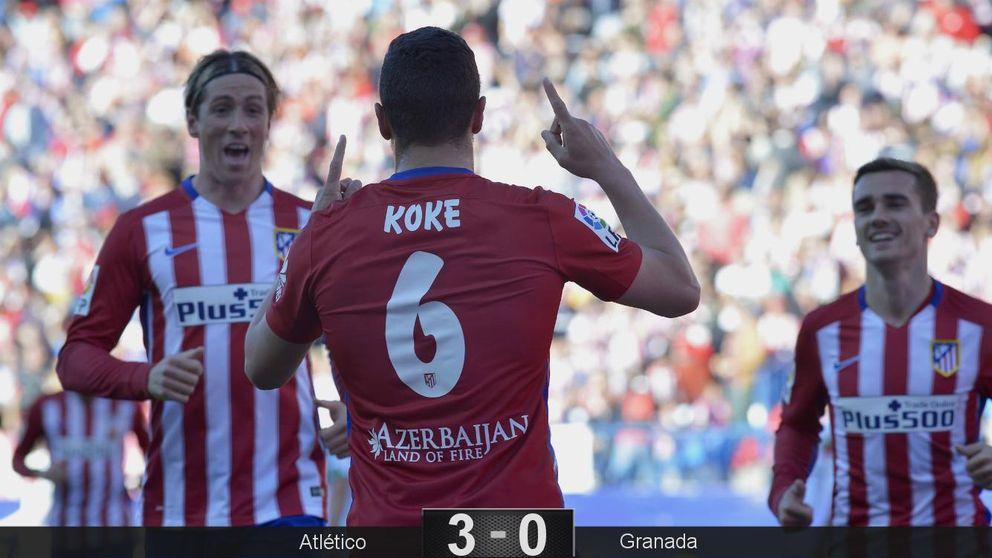 Koke y el Atleti siguen la doctrina Aragonés