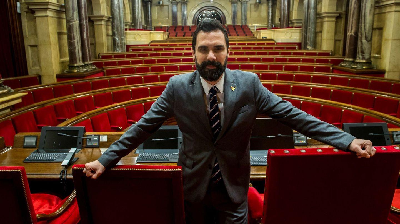 El presidente del Parlament de Catalunya, Roger Torrent. (EFE/Quique García)