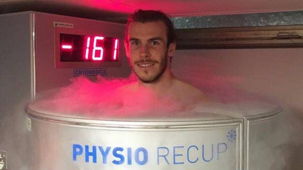 La recuperación del madridista Gareth Bale a 161 grados bajo cero
