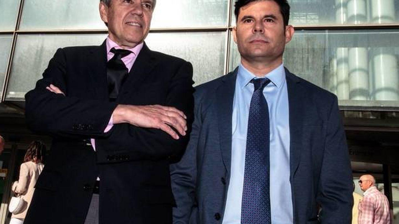 Javier Sánchez Santos y Fernando Osuna. (EFE)