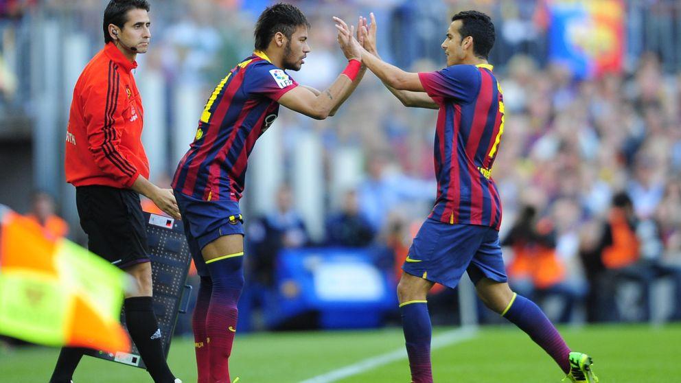 La baja de Neymar para las dos Supercopas retrasa la salida de Pedro