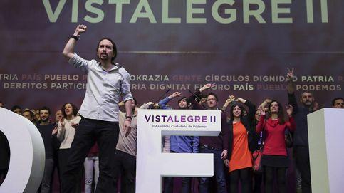 Las bases de Podemos abarrotan Vistalegre reclamando a la cúpula unidad, unidad