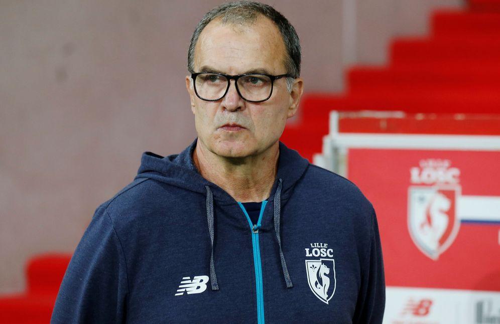 Foto: Marcelo Bielsa, durante un partido con el Lille. (Reuters)
