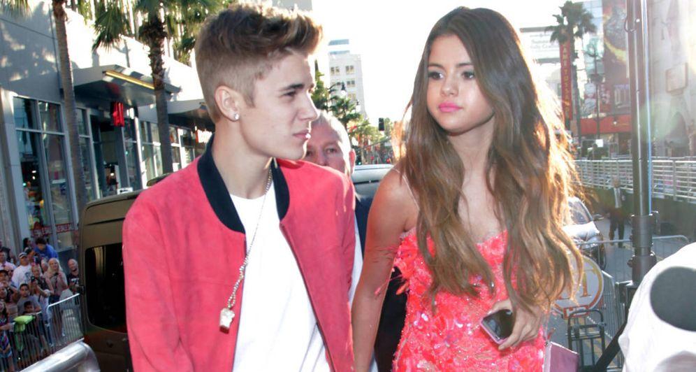 Foto: Justin Bieber y Selena Gomez. (Gtres)