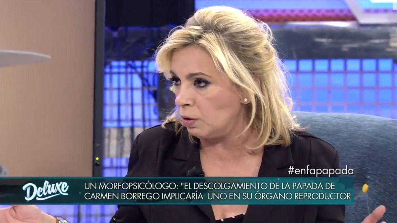 Carmen Borrego en 'Sábado deluxe'. (Mediaset España)