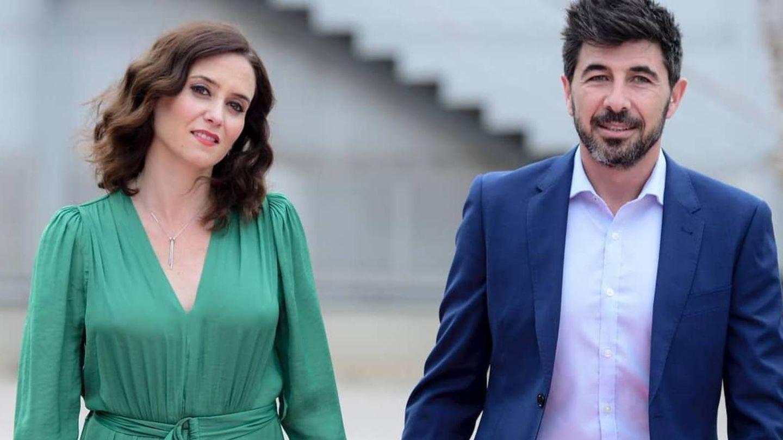 Isabel Díaz Ayuso y Jairo Alonso. (Instagram @isabeldiezayuso)
