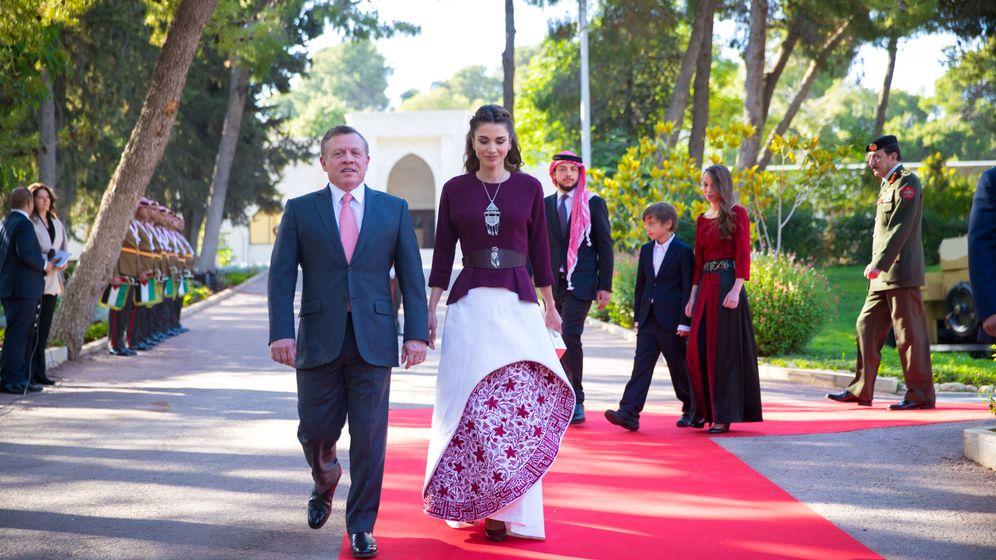 Foto: Abdalá y Rania de Jordania. (Getty)