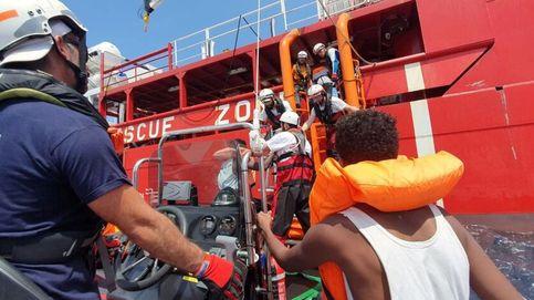 El Ocean Viking rescata a más de cien migrantes frente a las costas de Libia