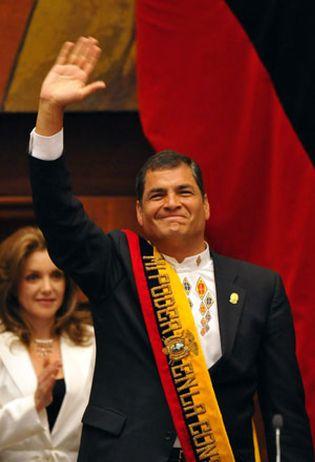 Foto: Rafael Correa apunta a radicalizar la revolución socialista en Ecuador