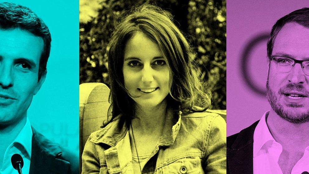 Levy, Casado y Maroto, así es la nueva (y moderna) 'generación PP'
