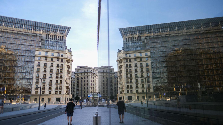 Edificio del Consejo Europeo en Bruselas. (EFE)